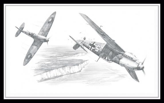 Achtung Spitfire ~ Nicolas Trudgian
