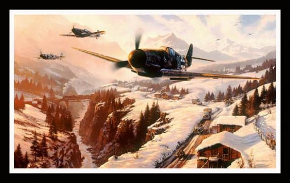 Winter Patrol ~ Nicolas Trudgian